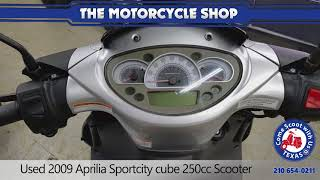 4. Used 2009 Aprilia Sportcity 250cc Scooter