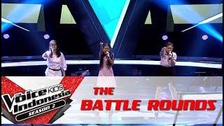 "Video Dea & Aisya & Lauren ""Shining Star"" | Battle Rounds | The Voice Kids Indonesia Season 2 GTV 2017 MP3, 3GP, MP4, WEBM, AVI, FLV Desember 2017"