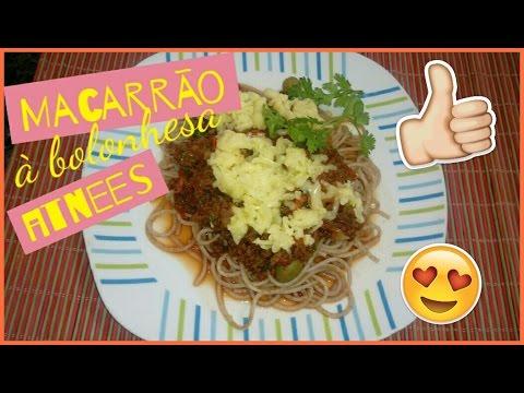 Dieta - Como fazer Macarrão a Bolonhesa Fitness #DiárioFitness
