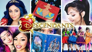 "My collection of Disney Descendants inspired DIY and makeup tutorials, including looks/costumes/crafts from the characters Evie, Mal, and Jordan! I also take you behind the scenes of the set of the Neon Lights Ball with the cast (including Dove Cameron and Sophia Carson!), as well as an exclusive book reading of The Rise of the Isle of the Lost. Hope you all enjoy!Comment below your thoughts, and let me know which character and tutorials you want to see next! - Charisma StarWant to know me more? Come hang out with me:SNAPCHAT: ""Charisma.Star""PERISCOPE: ""CharismaStar""FACEBOOK: http://www.facebook.com/CharismaStarTVTWITTER: http://www.twitter.com/CharismaStarTVCharis' INSTAGRAM: ""CharismaStar""NEW! I have a PO Box (finally)!Charisma Star TVPO Box 55193North Pole, AK 99705FOR BUSINESS INQUIRIES, please email:charismastar@mattermediagroup.com Camera: Sony a7sEditor: Final Cut Pro"
