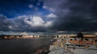 Timelapse. Saint-Petersburg.