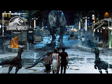 Final Battle Scene | Jurassic World