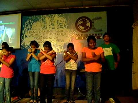 Shepherd's Heart Kids Perform Nancy Honeytree's Release Me O Lord In Sinhala