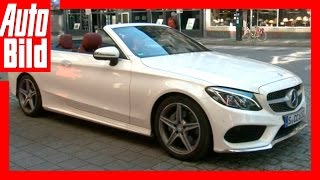 Kommentar / Mercedes Benz C200 Cabrio / Offene Kiez-Tour / Review by Auto Bild