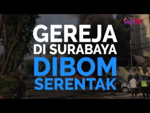 Gereja Di Surabaya Dibom Serentak