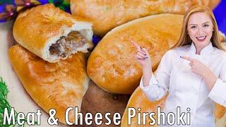 Meat and Cheese Piroshki by Tatyana's Everyday Food