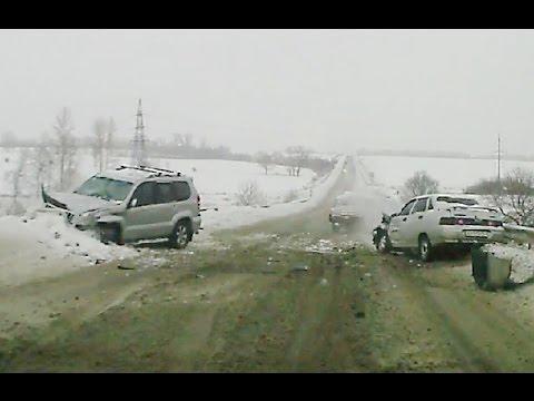 Новая подборка аварий и дтп  от 21.01.2016