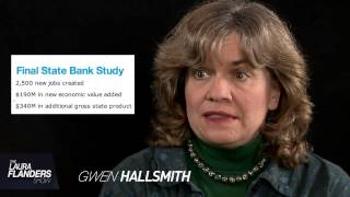 The Laura Flanders show streams from www.grittv.org. Public banks are the norm in many other countries, so why is it that they ...