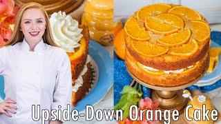 Upside Down Orange Honey Cake +Cookbook Giveaway! by Tatyana's Everyday Food