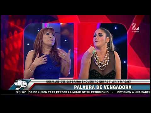Magaly y Tilsa Lozano protagonizaron un encuentro que sacó chispas