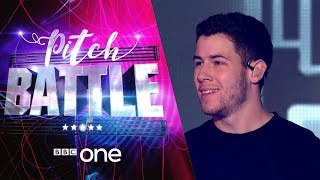 Pitch Battle website: http://bbc.in/2tspn3j Tring Park 16 sing 'Remember I Told You'. Featuring their Superstar Guest Judge Nick Jonas.