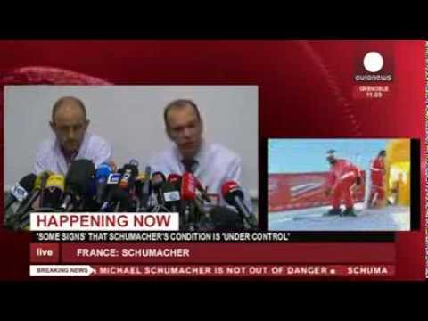 Schumacher 'still in danger' - press conference (recorded live feed)