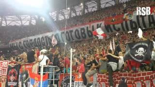 Delije i Fratria zajedno navijaju u Moskvi  Делије и Ð...