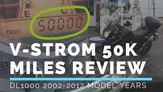 1. V-Strom 50000 Mile In Depth Review