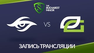 Secret vs OpTic, Bucharest Major [Maelstorm, NS]