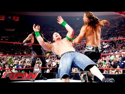 FULL-LENGTH MATCH - Raw - John Cena & The Undertaker vs. DX vs. Jeri-Show