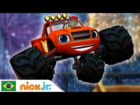 Blaze and the Monster Machines   Aprendendo com Blaze - Parte 2 🤓   Nick Jr.