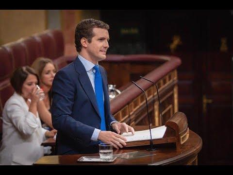Pablo Casado fue ayer la voz de todos los españoles en la #SesiónDeInvestidura.