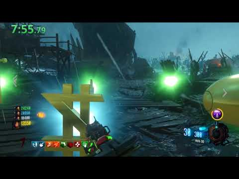 Origins Easter Egg Speedrun World Record 26:54 - 4 Player All Gums (bo3 Zombies Chronicles)