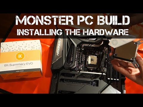 ASUS Maximus X Code Unboxing & Overview + CPU / Waterblock / SSD & RAM Installation