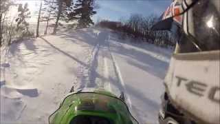 9. Arctic Cat Fresh Powder Drifts