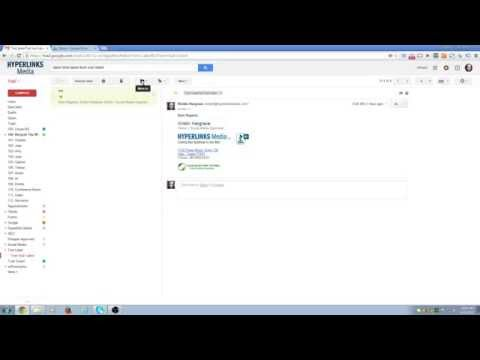 How to label emails in G Suite