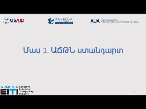 Part 1: EITI Standard