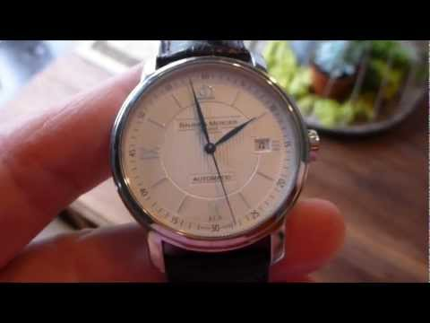 Baume & Mercier Classima Executives 8731 Automatic Watch Review