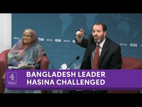 Bangladesh PM refuses to answer questions on human rights record