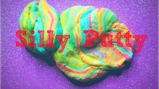 Make Your Own Silly Putty - YouTube