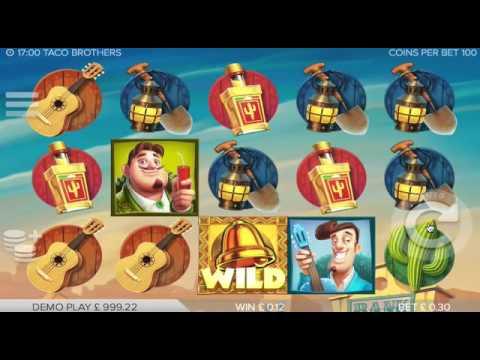Taco Brothers Online Video Slot Elk Studios