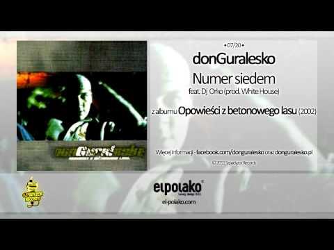 Tekst piosenki DonGuralEsko - Numer siedem po polsku