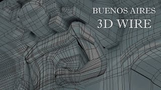 Buenos Aires 3d Wire