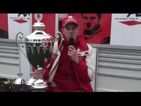 Declaraciones de Hulkenberg luego de ganara la Formula 3 Euroseries