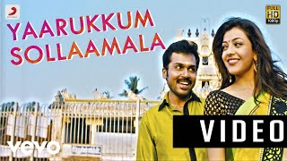 Download Lagu All in All Azhagu Raja - Yaarukkum Sollaama Video | Karthi, Kajal Agarwal Mp3
