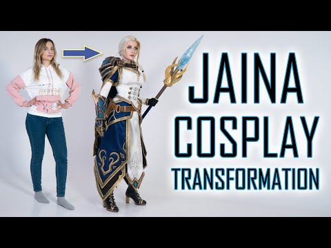 Jaina Proudmoore dress up | Cosplay Transformation