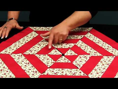 blocco esagonale in patchwork