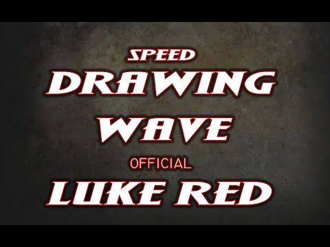 *Drawing Wave by Luke Red Tattoo*