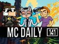 Minecraft Daily | Ep.141 | Ft. SkyDoesMinecraft and Steven! | My Op Spider Jockey!