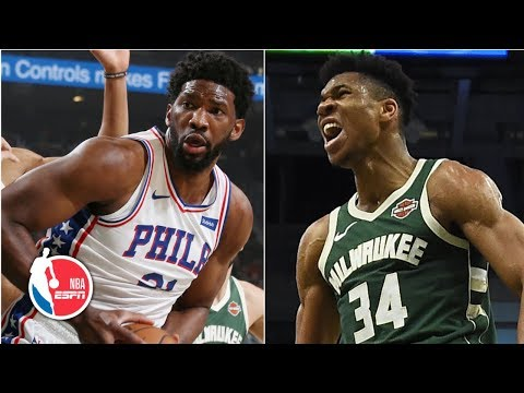 Joel Embiid, 76ers overcome Giannis Antetokounmpo's 52 points for huge win   NBA Highlights