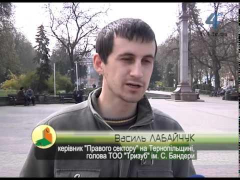 """""""Правий сектор"""" Тернопільщини мобілізується до столиці"""