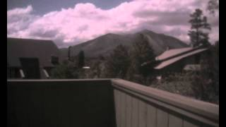 Time-Lapse of Mount Elden in Flagstaff, AZ - 6/5/2015