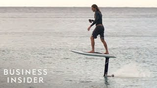 Why This 'Flying Surfboard' Costs $12,000