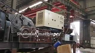 mobile crushing machine,portable stone crusher,mobile concrete crusher in big discount youtube video