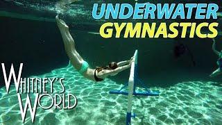 Underwater Gymnastics   Whitney & Blakely Bjerken