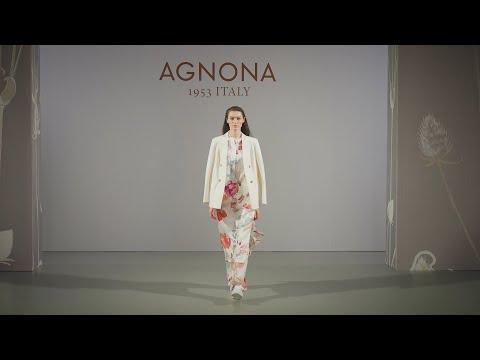 "Agnona Весна-Лето 2021 на Неделе Моды ""Кашемир и Шелк"" видео"