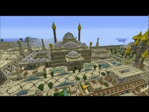 Minecraft Timelapse, episode 4 : Djamila, cité orientale