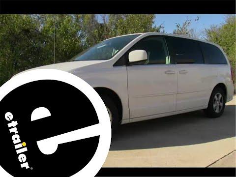 etrailer | Trailer Hitch Installation - 2012 Dodge Grand Caravan