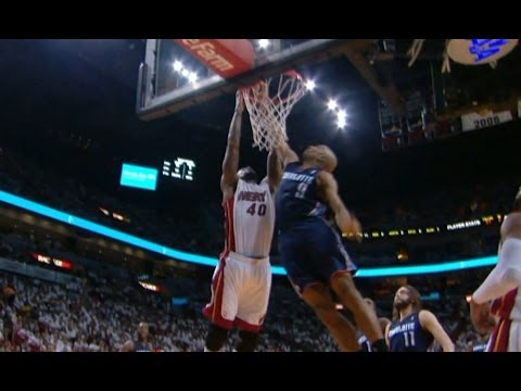 Video: Gerald Henderson Meets Udonis Haslem at the Rim for the SICK Block