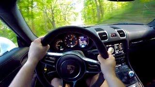 Cayman GT4 INSANE POV! by Vehicle Virgins